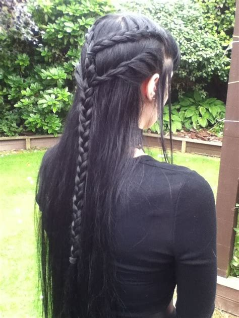 diy elven hairstyles 374 best a song of ice fire and style images on pinterest