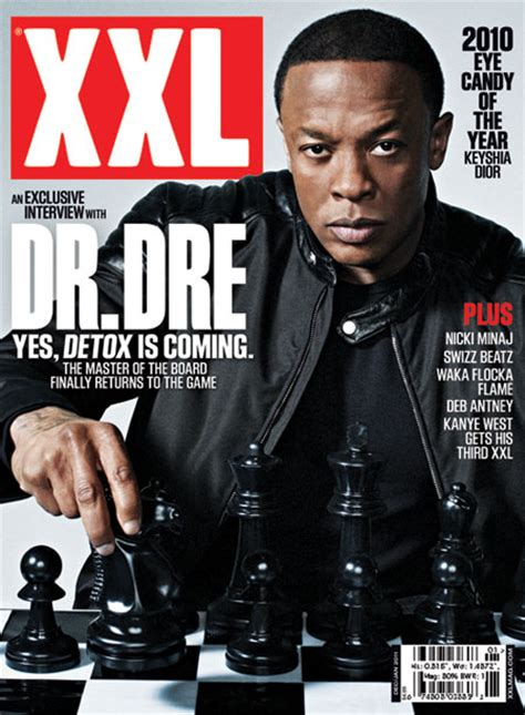 Dr Dre Detox Tracklist 2011 by Dr Dre Covers S Dec Jan Issue Hiphopstan