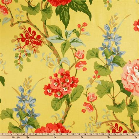 Discount Draperies And Curtains Waverly Floral Amp Botanical Fabric Discount Designer