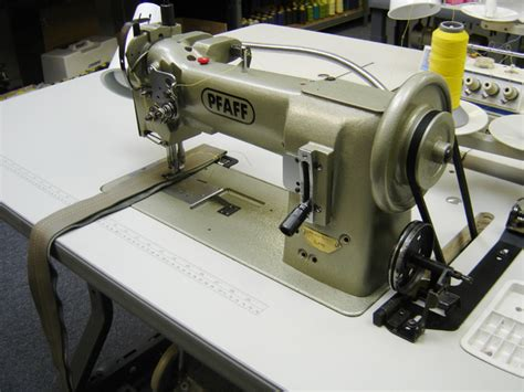 commercial upholstery sewing machine pfaff 545 single needle walking foot sewing machine used