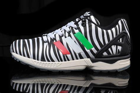 zebra pattern adidas original online mens womens adidas originals zx flux