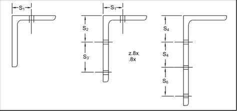 angle section dimensions angle iron size chart chart