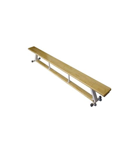 Banc Pin by Banc Structure M 233 Tal Pin Massif Et Roulettes H 31cm L