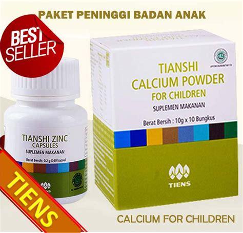 Paket 2 Peninggi Badan Tiens 2 Box Calcium Kalsium Nhcp 1 Zinc kalsium peninggi badan alami dan uh asli tiens