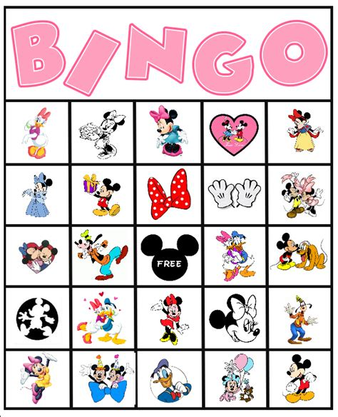 hedbanz cards template minnie mouse ideas and free printables bingo