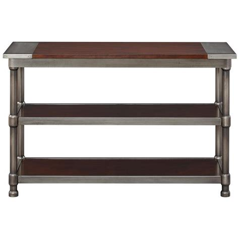 Metal Sofa Table Metal Sofa Table Coaster 702449 Angus Metal Scroll Sofa Table In Myrtle Thesofa