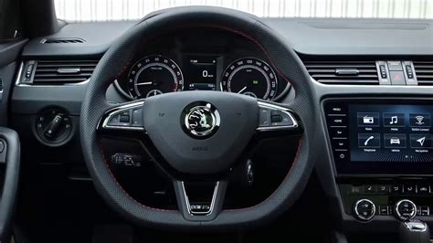skoda octavia rs 2017 interior