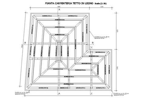 tetto a padiglione dwg casa n s belpasso 2006 salvatore concetto leotta