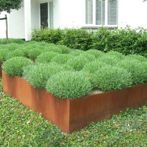 corten steel planter corten steel planters homesfeed