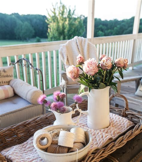 summer decor country french summer porch decorating cedar hill farmhouse