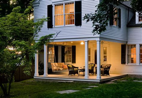 add a outdoor room to home crisp traditional porch new york by crisp architects