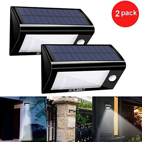 solar powered motion activated flood lights solar powered security floodlights set of 2 motion