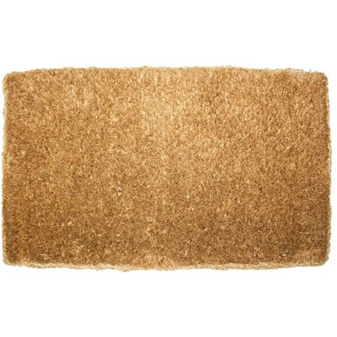 Coir Doormat plain imperial coco 18 in x 30 in coir outdoor doormat