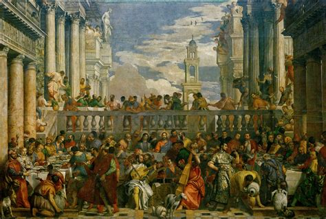 Wedding At Cana Painting In The Louvre by File Veronese The Marriage At Cana 1563 Jpg Wikimedia