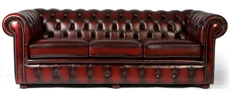 Chesterfield Sofa Company Rogers 3 Seater Sofa Oxford Grey Premium Leather Madecom Russcarnahan