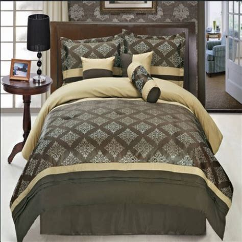 bed in bag with matching curtains thomasville coffee 11 piece bed in a bag with matching