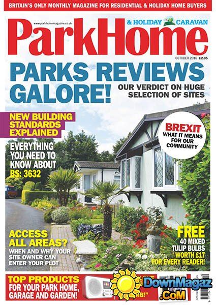 home food and design weekend 2016 park homes holiday caravan october 2016 187 download pdf magazines magazines commumity