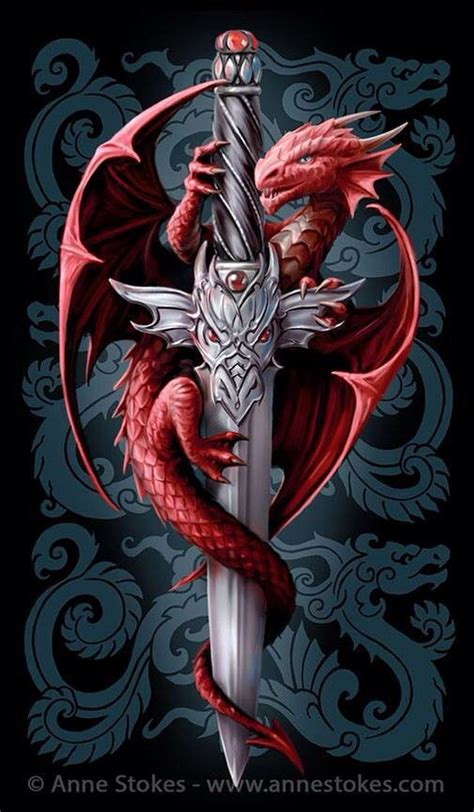 dragon tattoo hd images dragon anne stokes possible tats pinterest red