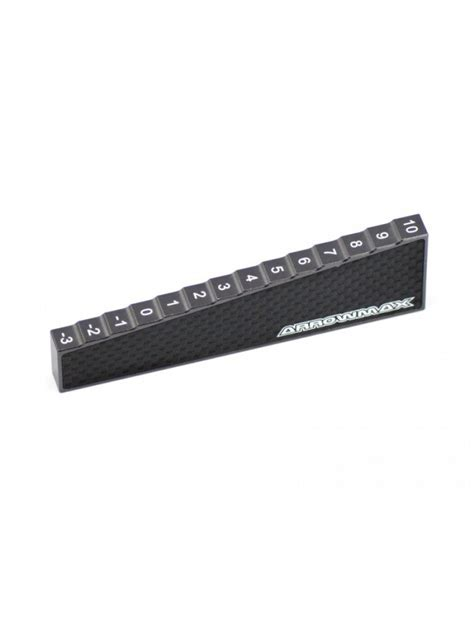 am 170013 arrowmax chassis droop 3 to 10 mm for 1 8