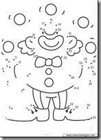 Fichas infantiles dibujos unir puntos | Colorear dibujos