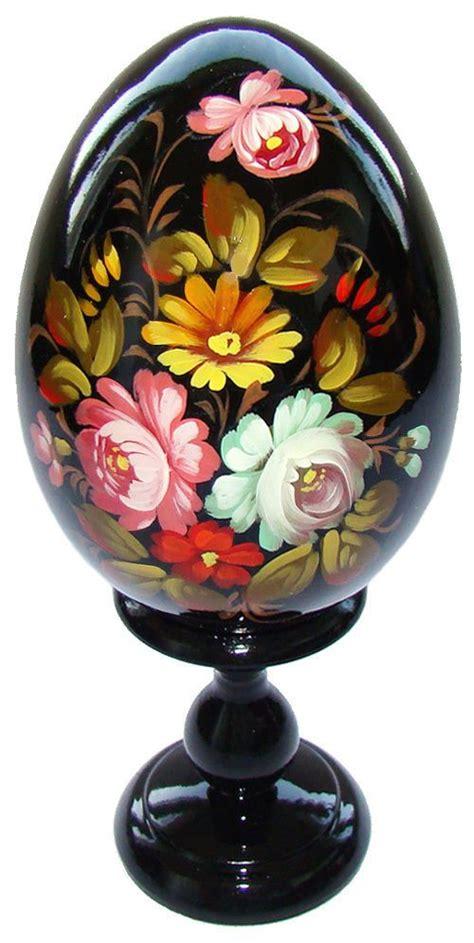 Oeuf Decore Russe by D 233 Tails Sur Oeuf Decore Peint Oeuf En Bois Collection