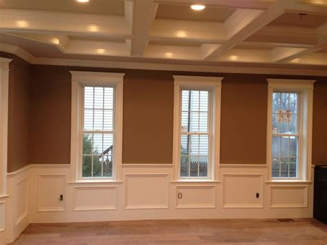Wainscoting Around Windows 17 Best Images About Dining Room On Custom