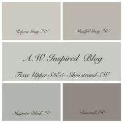 Season 3 paint colors and fixer upper on pinterest