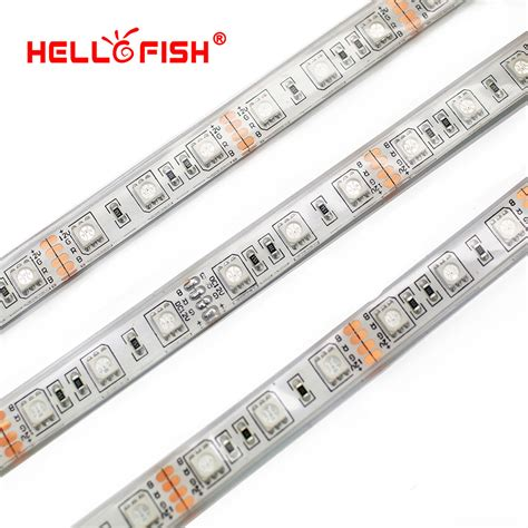 12v Waterproof Led Light Strips Aliexpress Buy Ip68 Waterproof 5m 300 Led 5050 Led 12v Led Light