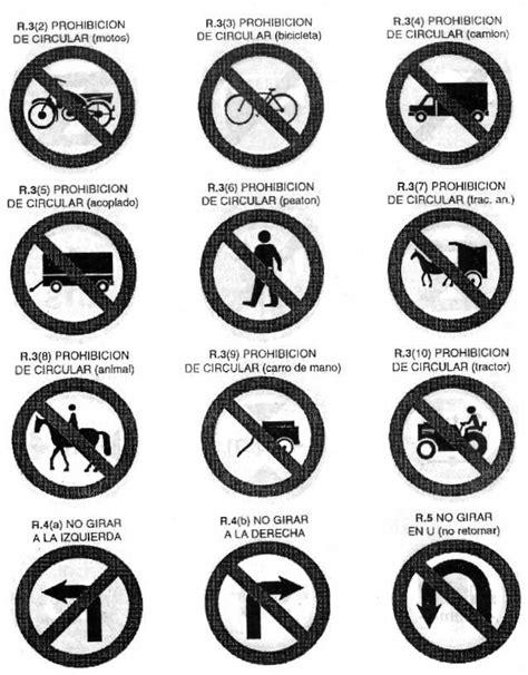 imagenes de simbolos que hay en la calle decreto 779 95 anexo l figuras senales de transito