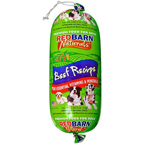 barn treats barn food roll beef 2lb