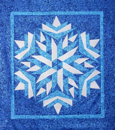 Snowflake Quilting Design by 10 Snowflake Quilt Patterns That Will Warm Your