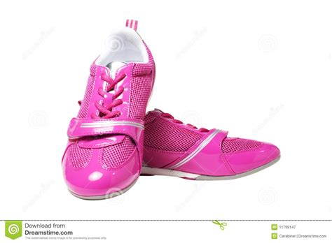 pink athletic shoes pink athletic shoes royalty free stock photography image