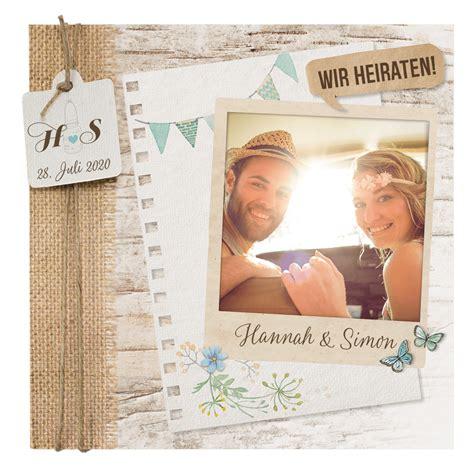 Hochzeitskarten Mit Foto by Hochzeitseinladungen Karten Mit Eigenem Foto Alle Karten De