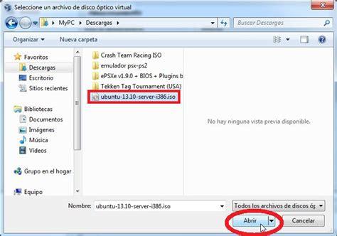 tutorial c ubuntu tutorial instalaci 243 n ubuntu server 13 10 en virtualbox 4 3