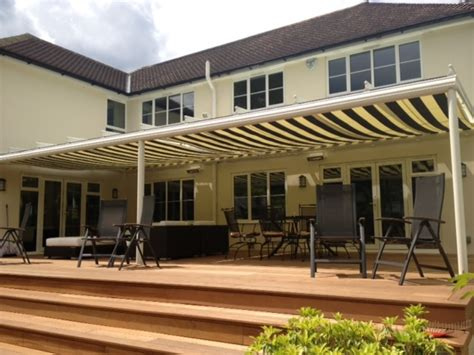 terrace awning fixed roof terrace covers from samson awnings terrace covers