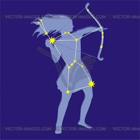 constellation orion vector clipart