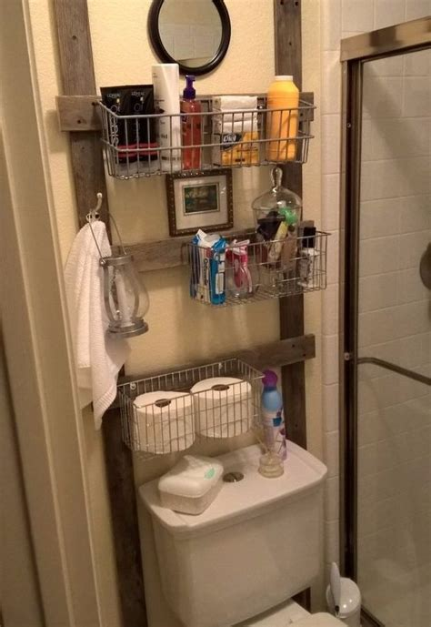 How to Add Vertical Storage to Your Tiny Bathroom   Storage