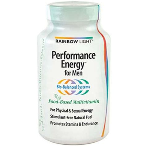rainbow light performance energy for rainbow light performance energy multi for men 180 tabs