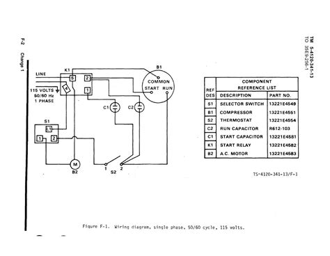 120 volt single phase compressor wiring diagram 120