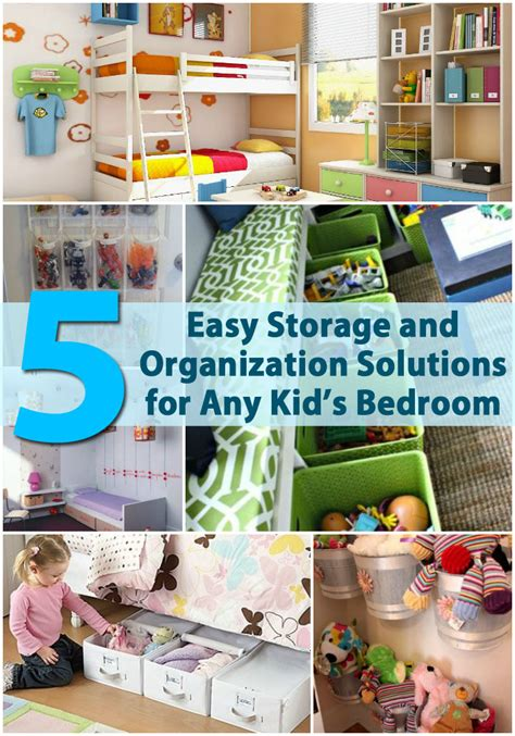 diy projects for kids bedroom 5 easy storage and organization solutions for any kid s