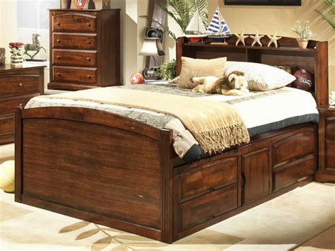 queen size captains bed queen size captains storage bed home design ideas