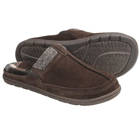 mens mule slippers mens acorn descent mule slippers in 4 colors size 7 8 9
