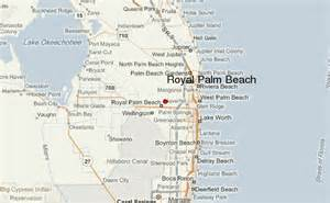 Palm Beach Florida Map by Royal Palm Beach Location Guide