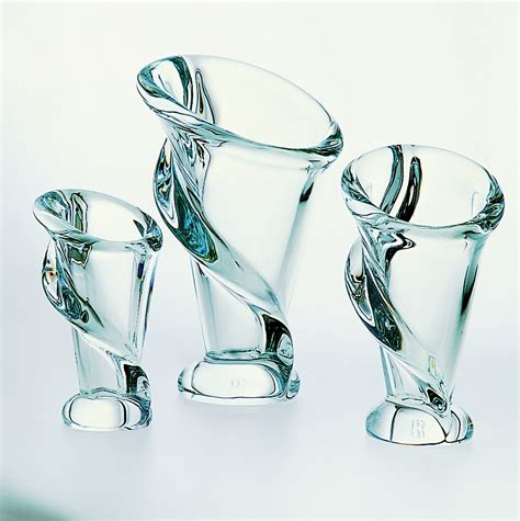 vasi cristallo vaso in cristallo cm 28 cristal s 232 vres di cristofalo