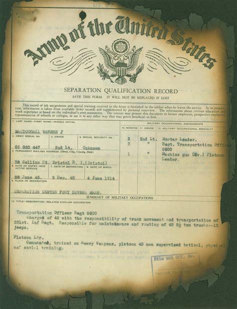 Korean War Records Request A Korean War Service Record My Service Records