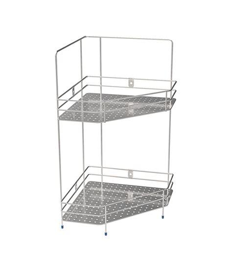 Shelf Of Saffron by Buy Saffron Stainless Steel Platinum Corner