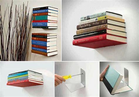 invisible floating bookshelves invisible bookshelves innovation