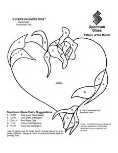Stained Glass Patterns For FREE Pattern 030 Heart sketch template