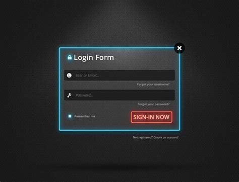 design login form in wpf form templates