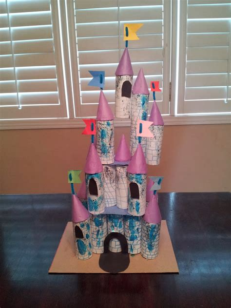 Toilet Paper Roll Castle Craft - townhome cinderella castle craft